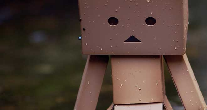Danbo - In A Puddle by David Copeman