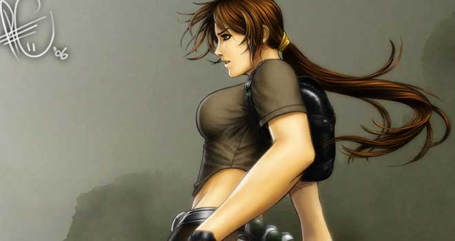 Lara Croft by Leonardo Gutierrez