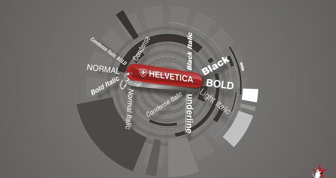 Helvetica by propagate