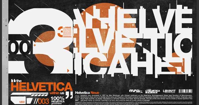 Helvetica Science Series by LouieHitman