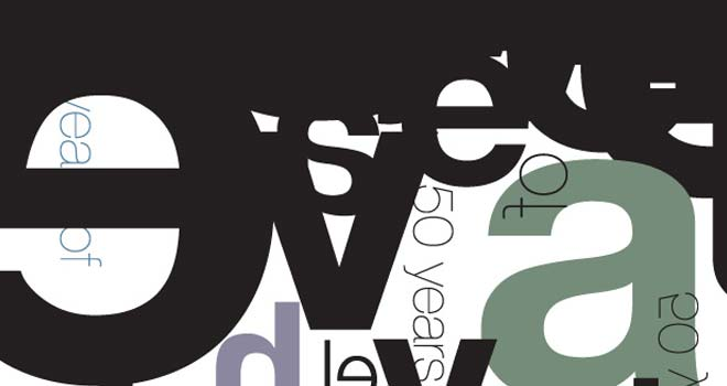 Helvetica Poster by oooshkie