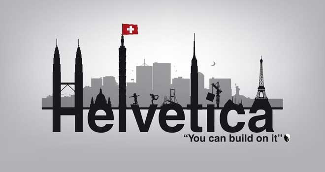 Helvetica by Sander de Wekker