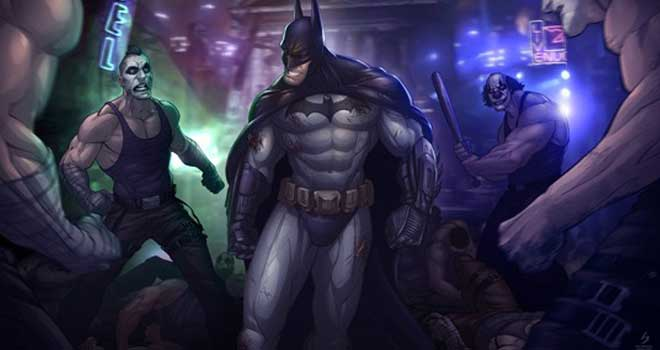 Batman Arkham City by Patrick Brown
