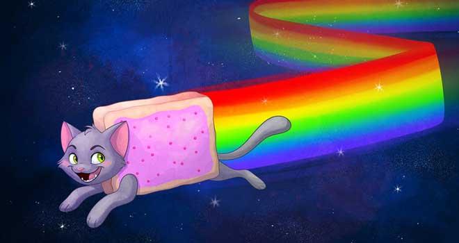 Nyan Cat by saitenyo