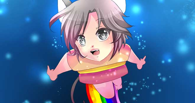 Gijinka Project: Nyan Cat by Kurama-chan
