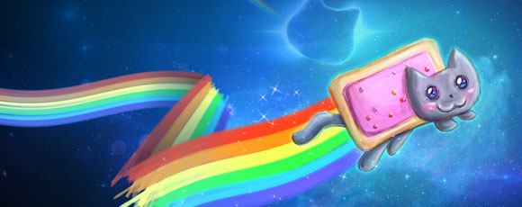 Collection Of Cute Nyan Cat Art And Wallpapers