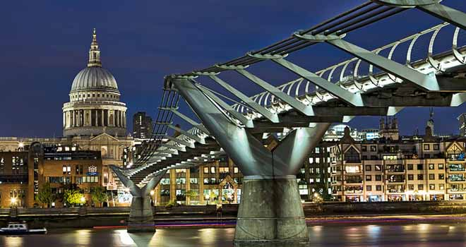 Millenium Bridge by lesogard