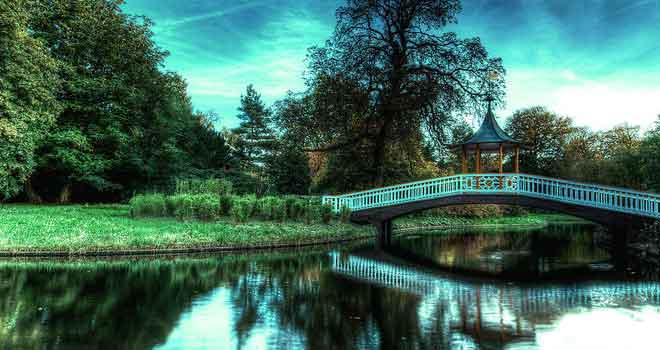 The Bridge, Frederiksberg, Denmark by Honosuke