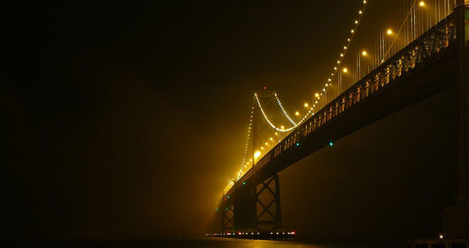 Bay Bridge by Brandon Watson