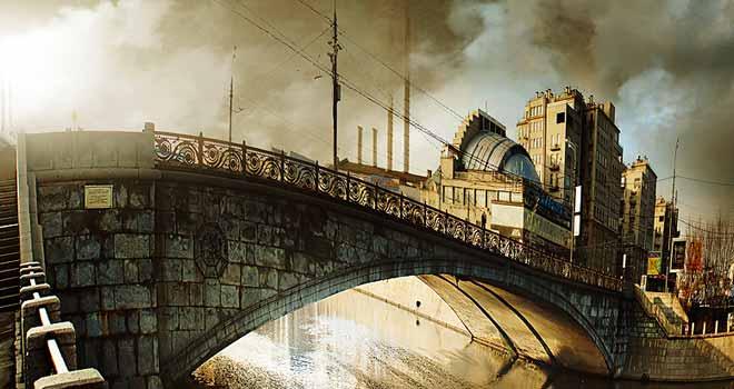 Malyi Kamenny Bridge Moscow by inObrAS