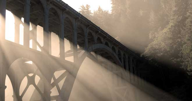 Historic Cape Creek Bridge, Devil's Elbow State Park, Florence, OR by Justice4Drea