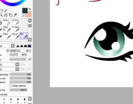Eye Tutorial in SAI by Qba016