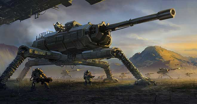 helicopter gunship game with Impressive Futuristic Sci Fi Battle Illustrations on Rda Helicopter Vs Navi Ikran likewise Nintendo 3ds Code Generator No Survey furthermore Lambda Wars Half Life Rts Fan Made Stand Alone On Steam together with Mi 35 Hind moreover Moon Base Photos And Wallpapers.