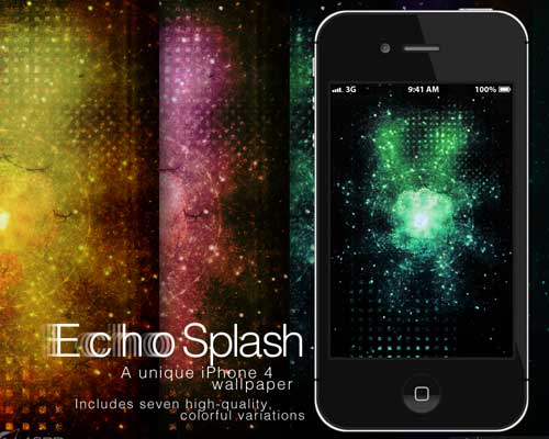 Echosplash! iPhone Wallpapers by Christopher Frank