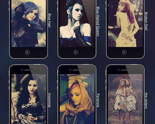 6 Pure Marianna Wallpapers by Cedric Holmes