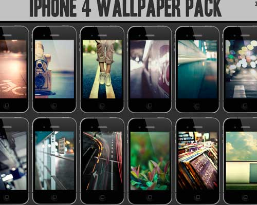12 iPhone 4 Wallpaper Pack by midnighttokerkate