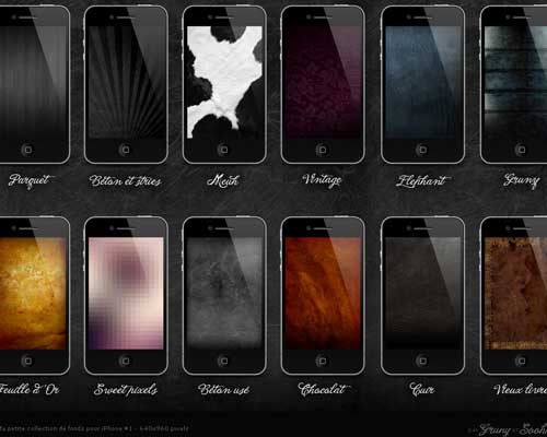 12 HD Wallpapers For iPhone by Christophe Grunenwald
