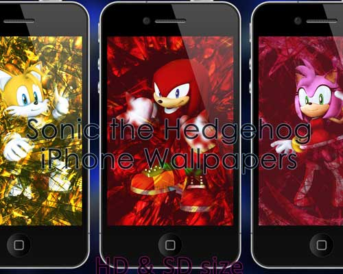 Sonic The Hedgehog iPhone Wallpapers by Cedric Holmes