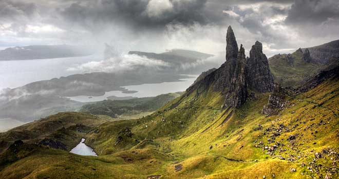 Isle of Skye, Old Man of Storr, Scotland by Maciej Duczynski
