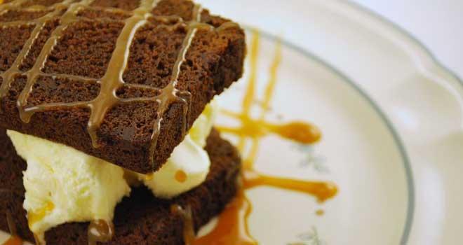 Ice Cream Brownie Sandwhich by stickanatior