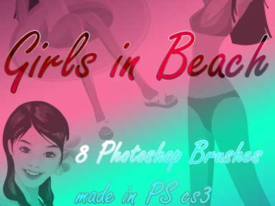 Girls in Beach Brushes by Coby17