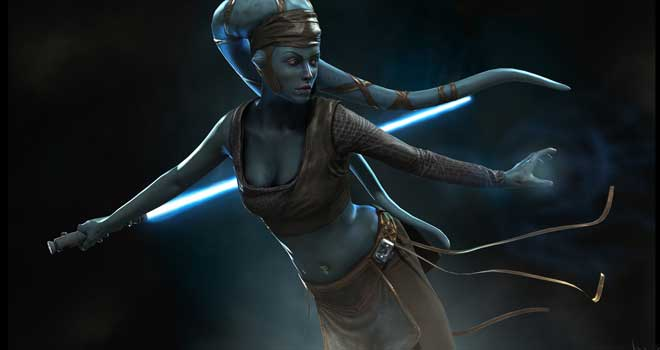 Aayla Secura by Vincent Joyau