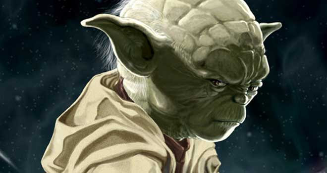 Unsheathed - Portrait of Yoda by HOON