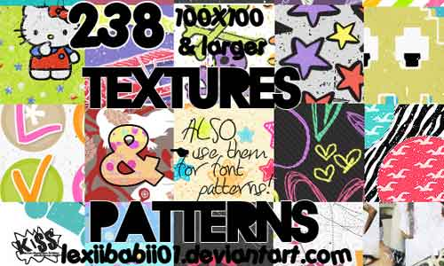 238 Textures And Patterns by lexiibabii01