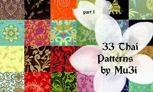 Thai Patterns by mu3i