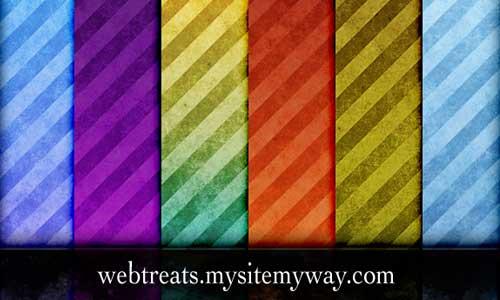 Grunge Stripes Pattern by WebTreatsETC
