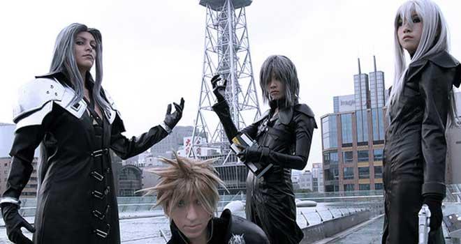Final Fantasy VII Group by Thais Yuki Jussim