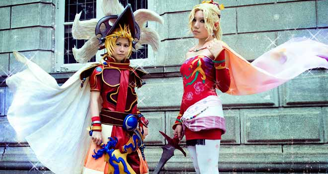Final Fantasy, Terra Branford and Onion Knight by Cvy