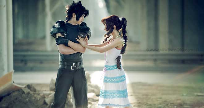 Oh, You - Zack and Aerith by Konoe-Lifestream