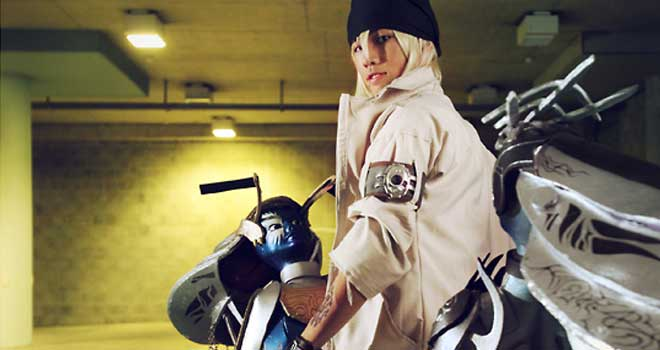 Snow Villiers On Shiva Bike, Final Fantasy XIII by beethy