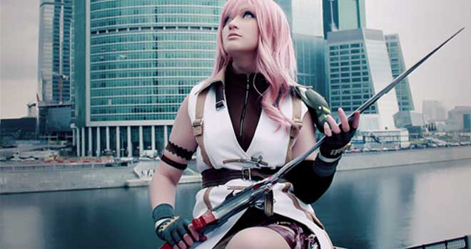 Lightning Final Fantasy XIII by Katy-Angel