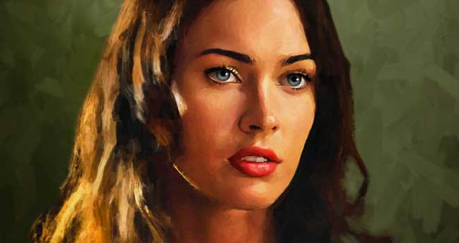 Megan Fox by AndyTkach