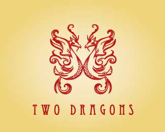 Two Dragons by Nancy Carter