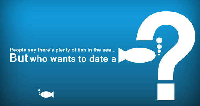 Fish Typography Wallpaper by Saurabh Khirwal