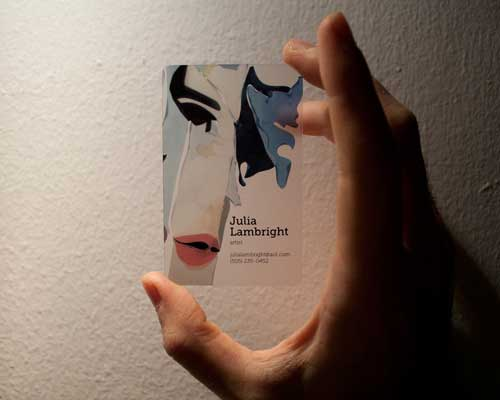 Julia Lambright Business Card by Dario Monetini