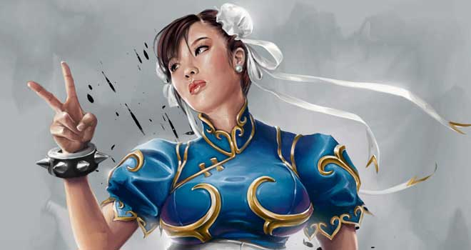 Chun Li Street Fighter 4 by Mike Thompson