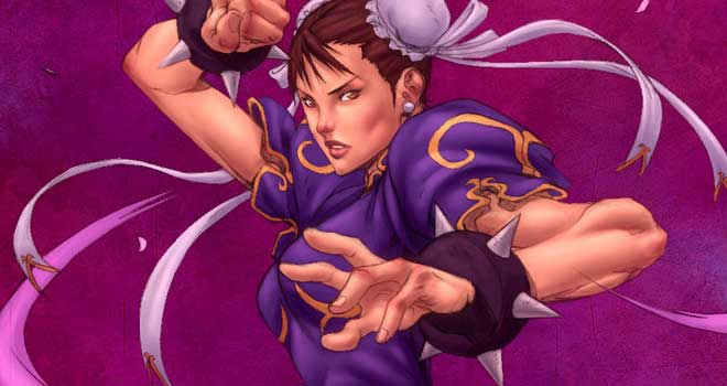 Chun-Li by Alvin Lee