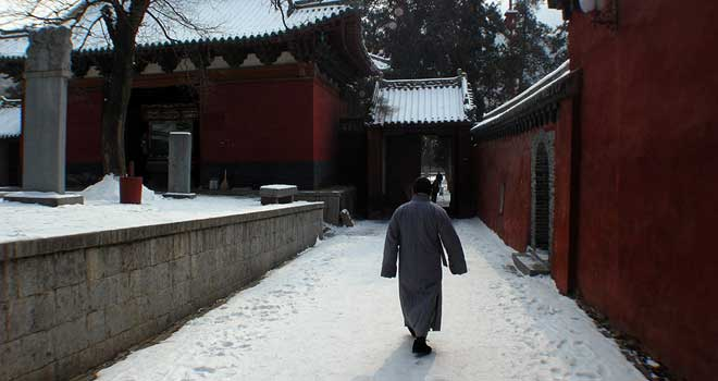 Cold At The Shaolin Temple by Or Eitan