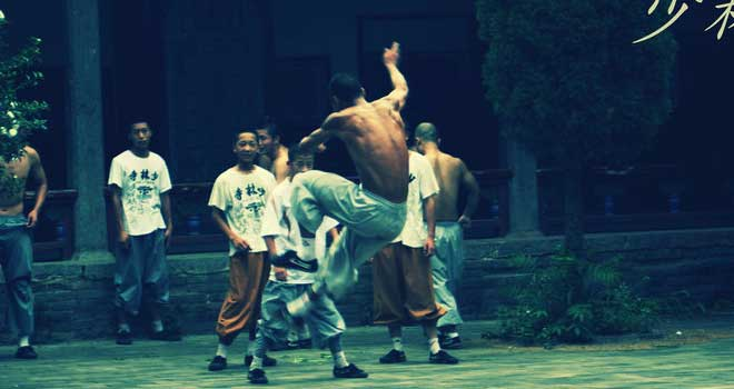 Shaolin Temple Monks by Chelseagoround