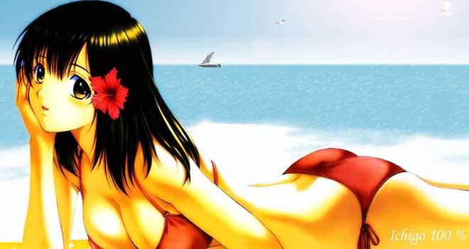 Beach And See - Ichigo 100 Percent