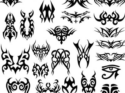 Tribal Vector Set by AcidaSeee