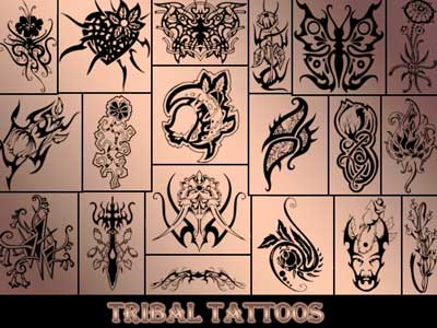 Tribal Tatoos by green-eyed-butterfly