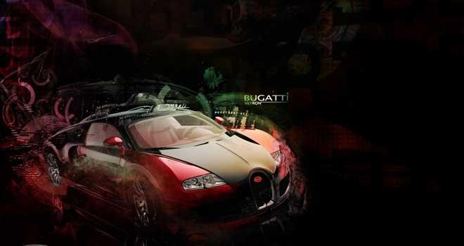 Bugatti Veyron by Zak Iddings