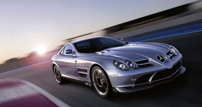 Mercedes Benz SLR 722 2007 by FreeWallpapers