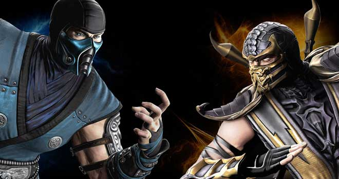 Subzero Vs Scorpion by barrymk100