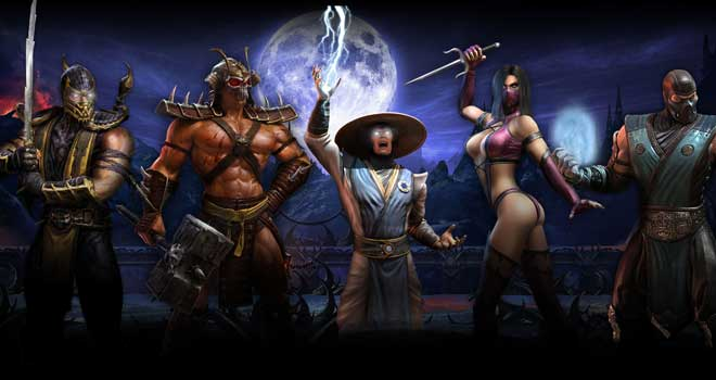 Mortal Kombat 9 Wallpaper by father12345